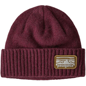 Patagonia Brodeo Gorro, fitz roy rambler/chicory red